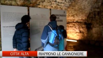 Riaprono le Cannoniere sotto le Mura Uno dei tesori più suggestivi di Bergamo