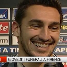 Astori, giovedì funerali a Firenze