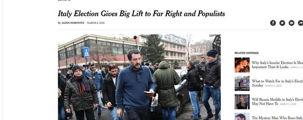 Ecco come il mondo parla dell'Italia I siti web internazionali sulle elezioni
