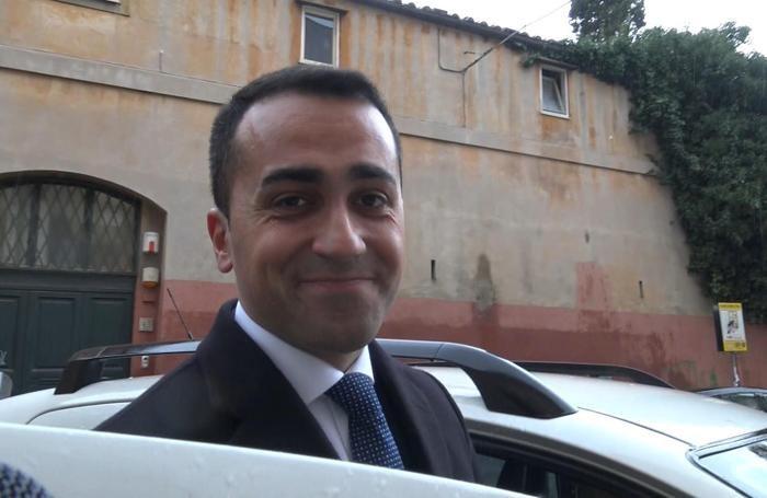 Luigi Di Maio sorridente