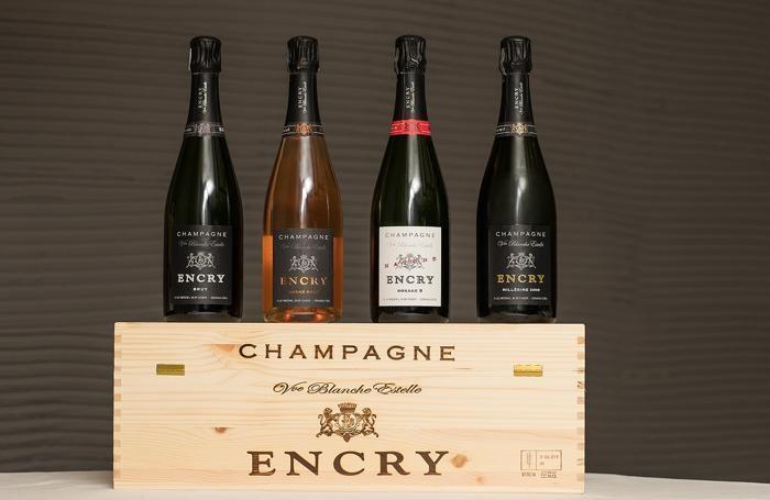 I 4 Champagne Encry abbinati alla cena