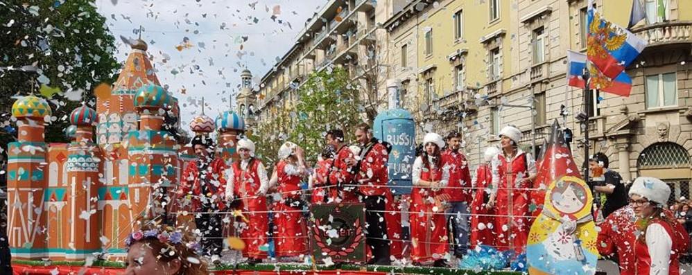 Sfilata di Mezza Quaresima in centro a Bergamo
