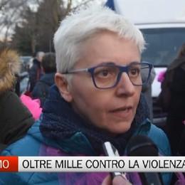 Bergamo - Oltre mille contro la violenza
