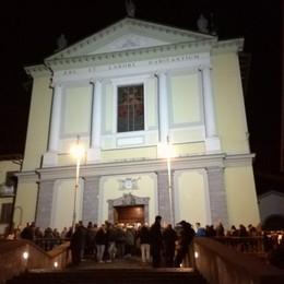 Fino a tarda sera per salutare Davide Chiesa gremita a San Pellegrino