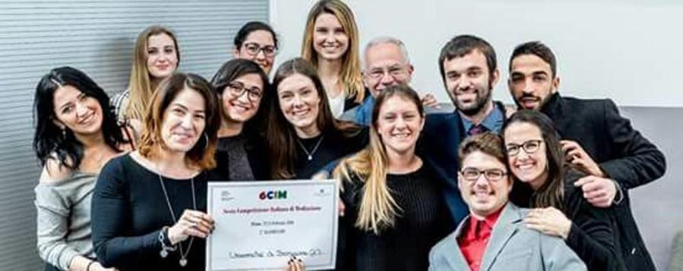 Mediazione, l'Università sul podio Seconda tra 22 atenei in competizione