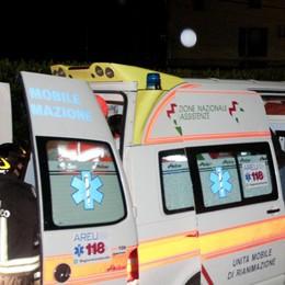 Nembro, cade nell'acqua gelida: 62enne trasportato in ospedale