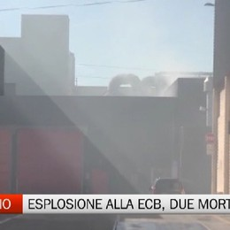 Esplosione in una azienda a Treviglio, due morti