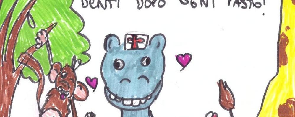 La Cura Dei Denti Con Il Disegno Un Concorso Per Bambini Bergamo