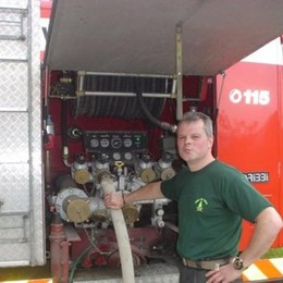 Nel 2007 la tragedia del padre Vigile del fuoco, morì in un incidente