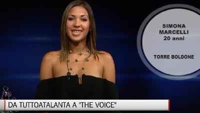 Da TuttoAtalanta a The Voice, la storia di Simona Marcelli