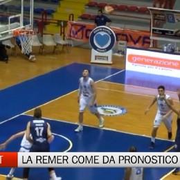 Basket, Napoli-Remer Treviglio 80-100
