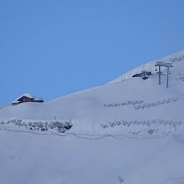 In montagna alto rischio valanghe Spunta il sole, ma non dura molto