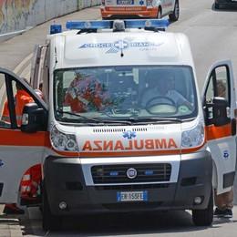 Scontro tra auto e moto a Curno Bloccata la Dalmine-Villa d'Almé