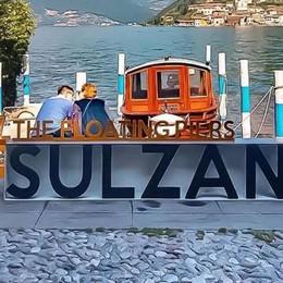 Sul lago d'Iseo le panchine «social» per conquistare i turisti smart