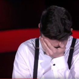The Voice, la voce di Mirco commuove Il video dell'esibizione e le lacrime di gioia