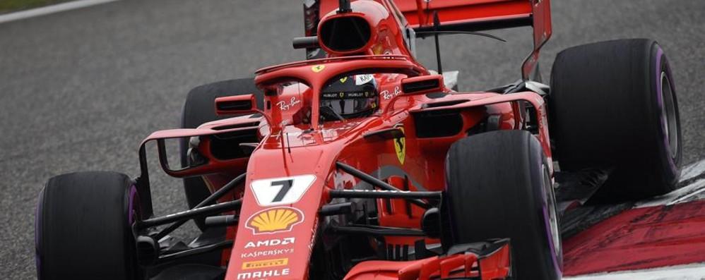 Formula 1, in Cina prima fila tutta Ferrari Sebastian Vettel in pole position