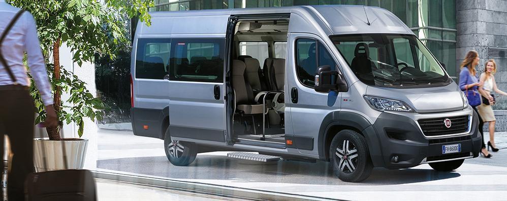 Fiat Professional: arriva il nuovo Ducato Minibus