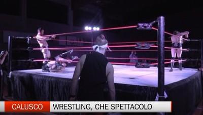 Wrestling, che passione. Lo spettacolo di Calusco