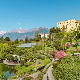A Castel Trauttmansdorff l'incanto dei giardini fioriti