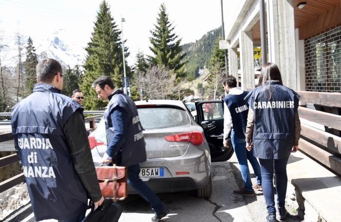 i carabinieri e le forze dell'ordine a Foppolo