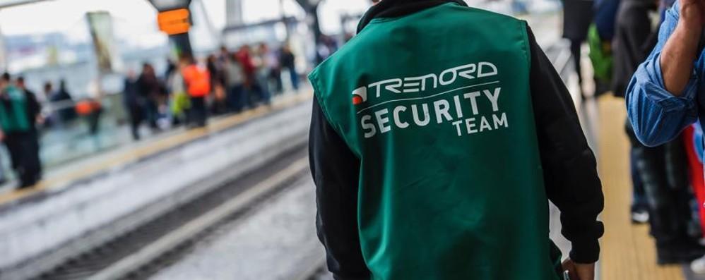 Sicurezza treni, 18 nuove guardie giurate Trenord: «Ora in totale sono 90»