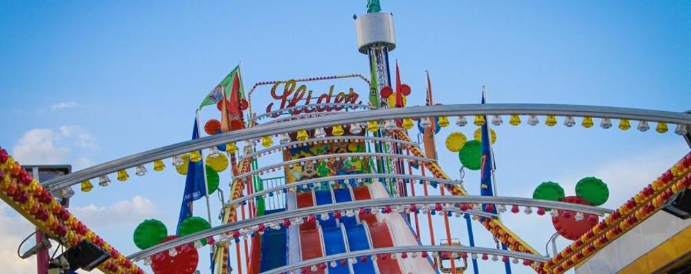 A Bergamo torna il Luna park  Nuove attrazioni e giostre in sconto