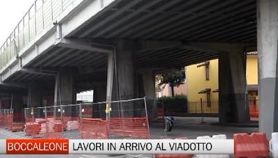 Viadotto di Boccaleone, torna il cantiere per la manutenzione