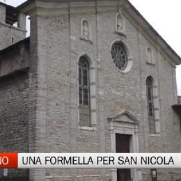 «Adotta una formella» per San Nicola L'idea ad Almenno San Salvatore