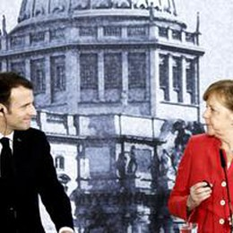 Macron-Merkel, entro giugno una visione comune per l'Ue