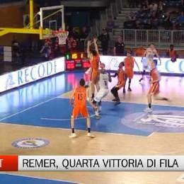 Basket, Remer Treviglio-Viola Reggio Calabria 87-86