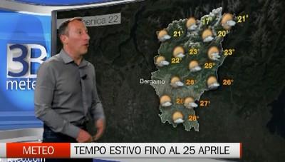 Meteo - Tempo quasi estivo almeno fino al 25 aprile
