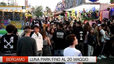Luna Park, folla all'inaugurazione delle giostre