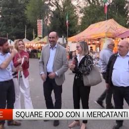Seriate Square Food con i mercatanti d'Europa