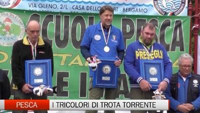 Zogno, campionato italiano di trota torrente