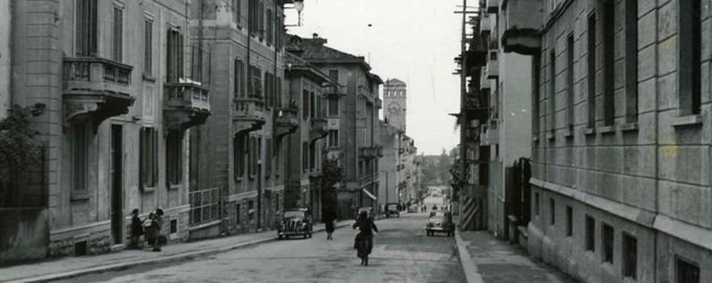 Antico e moderno in via Locatelli Una passeggiata dal 1954 a oggi