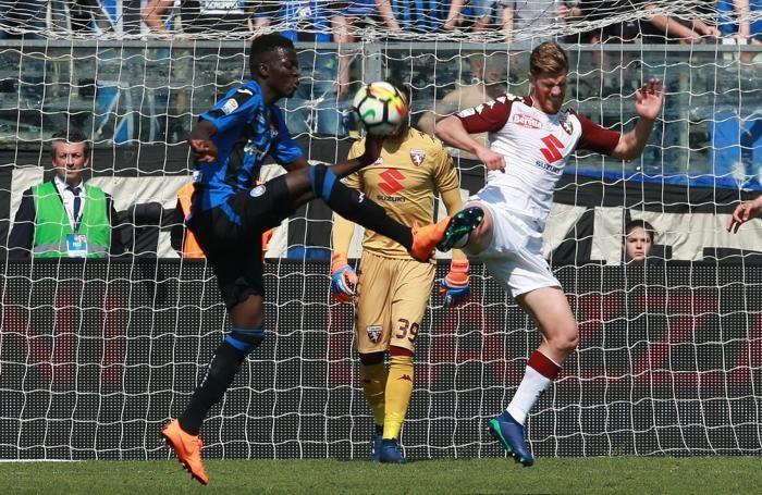 Atalanta's forward Musa Barrow