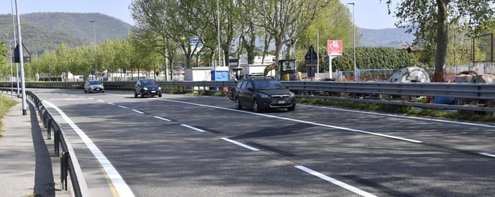 Bergamo, chiuso il cantiere della discordia Via delle Valli: viabilità regolare - Video
