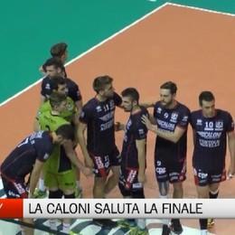 Volley - Olimpia Caloni Agnelli, addio alla finale