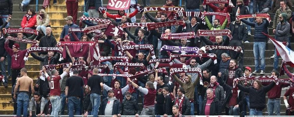 Bergamo, rissa tra tifosi Ma sono tutti del «Toro»