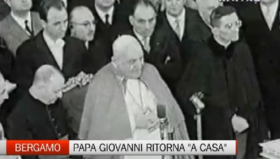 Bergamo si prepara al ritorno di Papa Giovanni