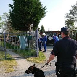 Campi nomadi di Zanica e Grassobbio Controlli dei Carabinieri contro il degrado