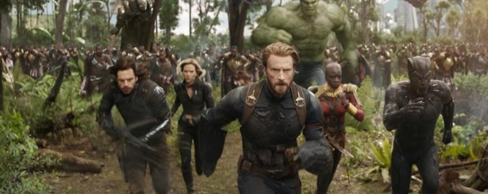 Arrivano gli Avengers Festa a Curno e Orio al Serio