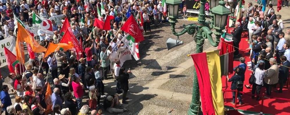 «Il 25 Aprile e il valore della Libertà»  In 4 mila al corteo di Bergamo - Foto