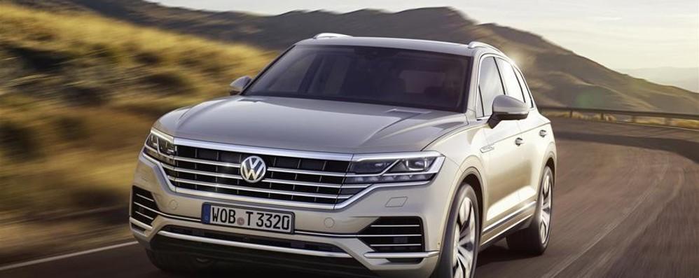 Nuova Volkswagen Touareg rivoluzione digitale a bordo