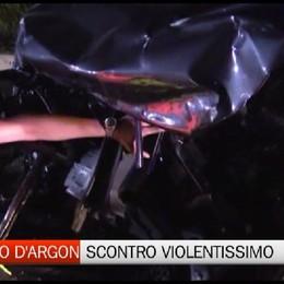 San Paolo d'Argon: schianto, cinque feriti gravi