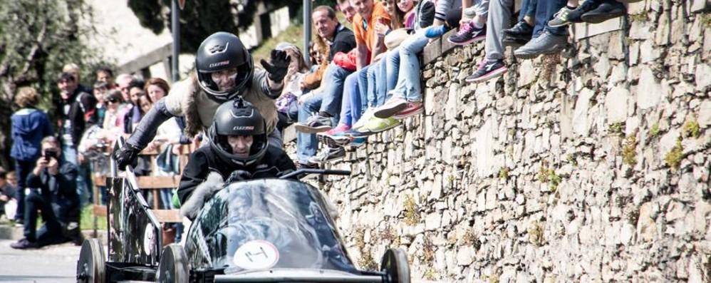 Soap Box Rally, domenica si corre  Città Alta chiusa al traffico dalle 13