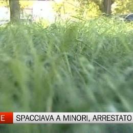 Droga a minorenni nei giardinetti, arrestato spacciatore magrebino