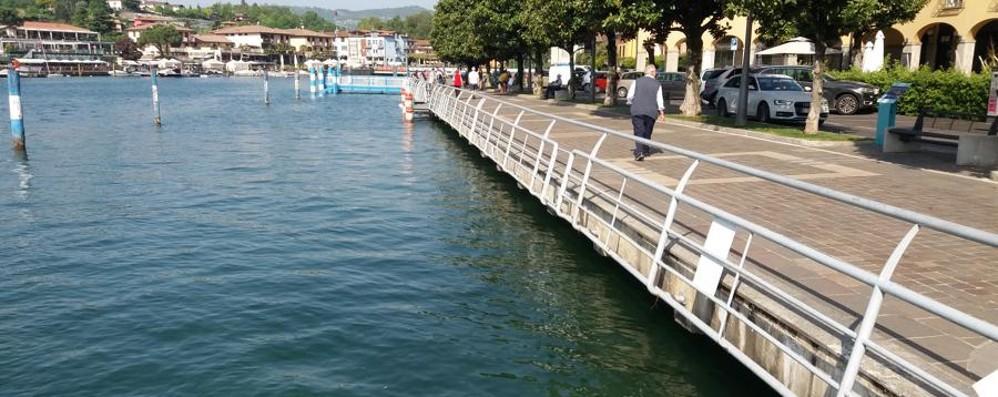 Lago d'Iseo, sorpresa di fine aprile Sole e livello d'acqua da record - Foto