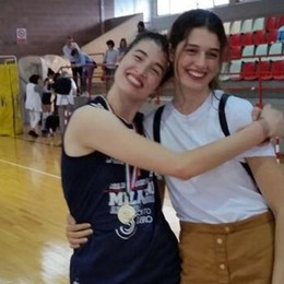 Lucia e Clara Decortes, sorelle in tutto Conquistano l'A1 in due sport diversi