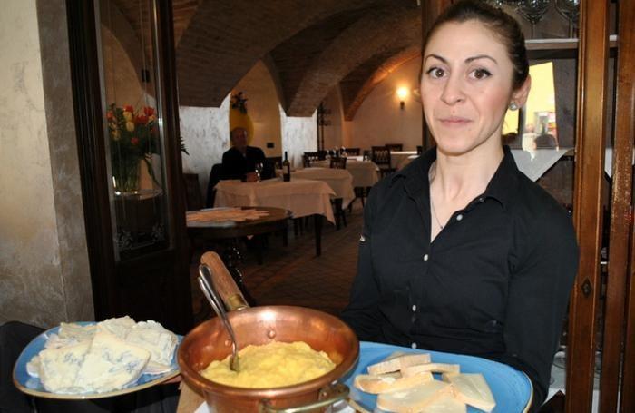 Arriva la polenta coni formaggi Arrigoni